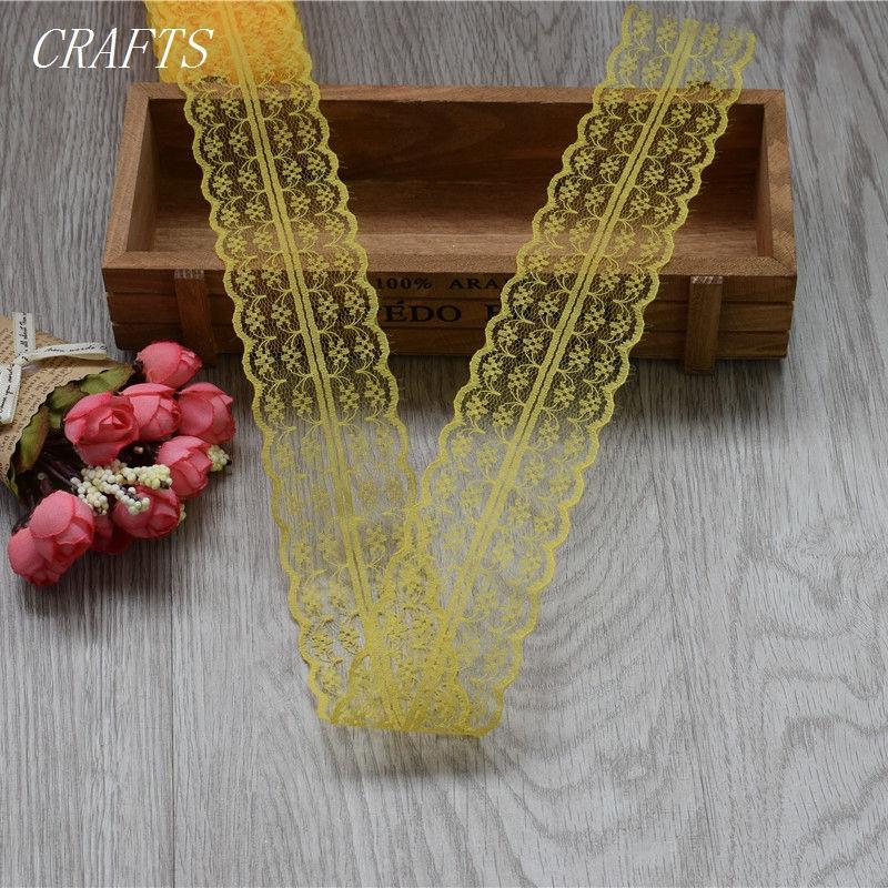 HTB1CX69cgjN8KJjSZFkq6yboXXaY New! 10 yards of beautiful lace ribbon, 4.5 cm wide, DIY Clothing / Accessories / floral accessories, etc.
