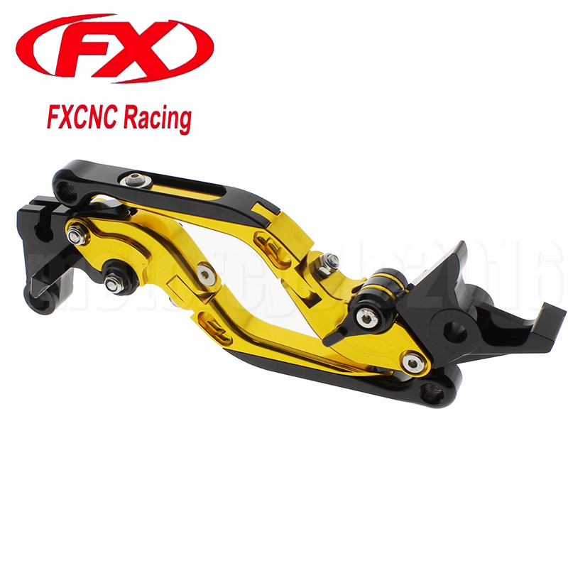 FXCNC Foldable Extendable Motorcycle Brake Clutch lever For Honda CBR600RR 2003-2006 2004 2005 2006 Moto Lever Motobike Brake aftermarket free shipping motorcycle parts brake clutch hand lever for honda cbr1000rr cbr 1000 2004 2005 2006 2007 carbon