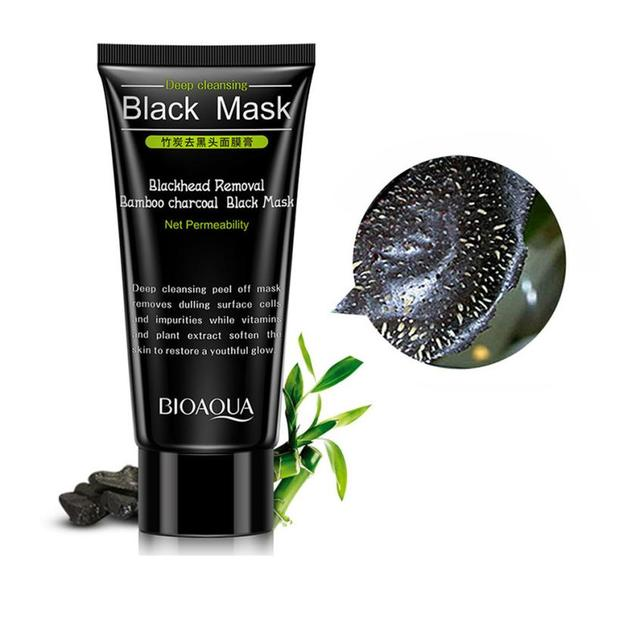 Best Skin Care NEW Black Mud Deep Cleansing Blackhead Remover Purifying Peel Face Mask For Dropshipping 3