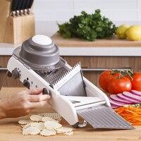 GoodFeer 4 Gear Adjustable Mandoline Slicer kitchen accessories Multi functional Vegetable Grater Shredder Slicer Cutter Sets