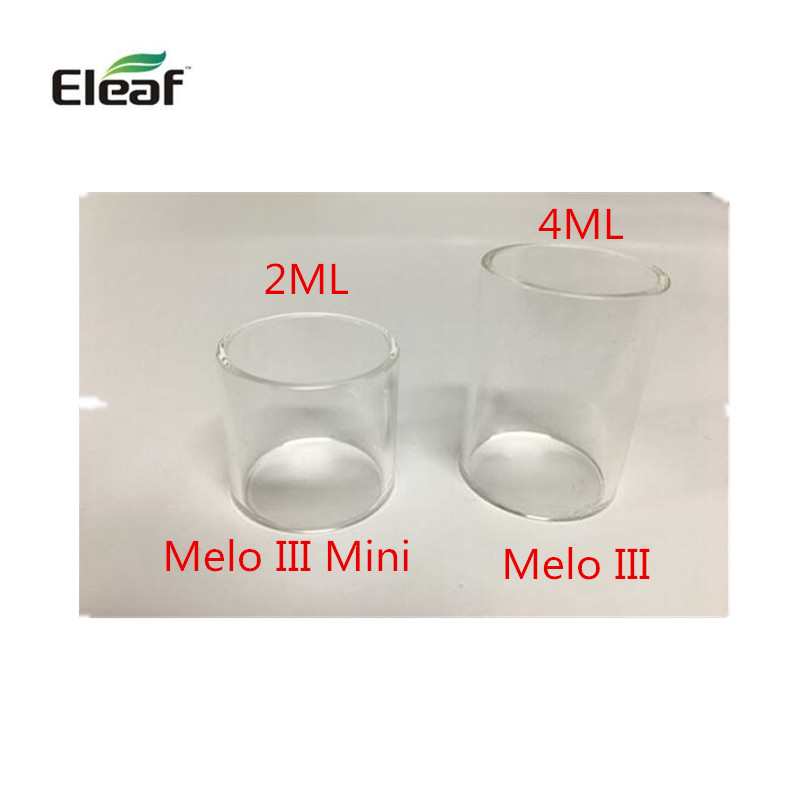 10pcs /lot Hottest Selling Vapor Atomizer Glass Tube For Eleaf Melo Iii Tank 4ml/ Melo Iii Mini Tank 2ml Fit For Istick Pico Kit Cheap Sales Electronic Cigarettes