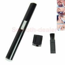 U119, распродажа, микро триммер для удаления волос в носу и ушах, триммер для лица, тела, лица, бороды, спины, волос, бритва, грумер, черный цвет