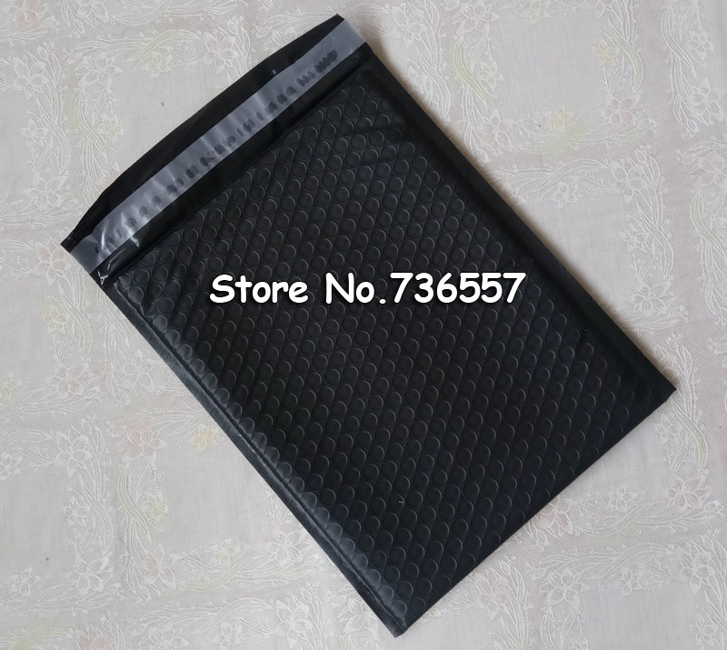 [50pcs] Pink Black White Purple Blue 6.5X9inch 165X229MM Usable Poly bubble Mailer envelopes padded Mailing Bag Self Sealing