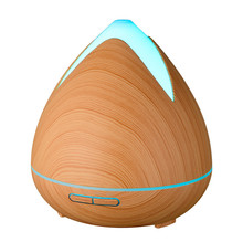 300ml Aroma air Humidifier Aromatherapy Wood Grain 7 Color LED Lights Electric Aromatherapy Essential Oil Aroma Diffuser цена и фото