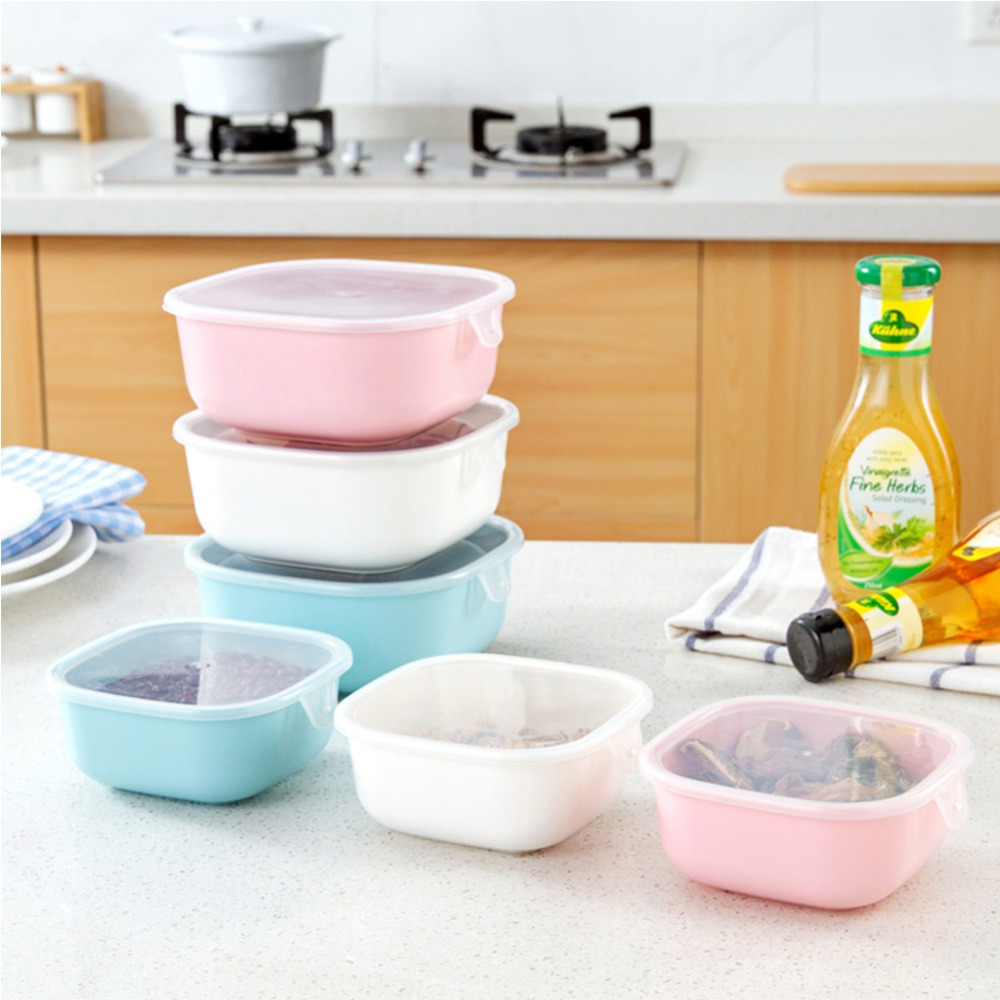 compare prices on box kitchen containers online shopping buy low 1pcs multifunction transparent sealed crisper set plastic moistureproof food storage box kitchen containers china