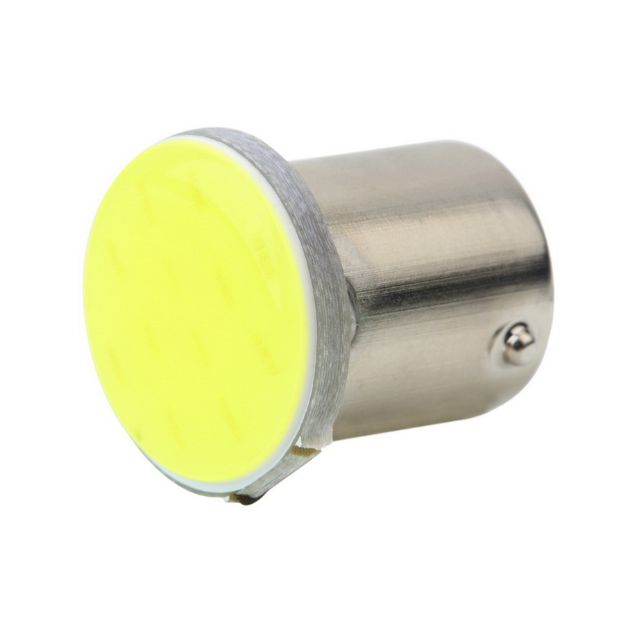 New Hot Selling 1pcs White 1156 BA15S COB 12SMD LED Bulbs RV Trailer Truck Interior Backup Light