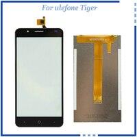 Для Ulefone Тигр ЖК-дисплей Дисплей Сенсорный экран планшета Запчасти для авто 5.5 дюймов сотовый телефон ЖК-дисплей бесплатный ремонт Инструме...