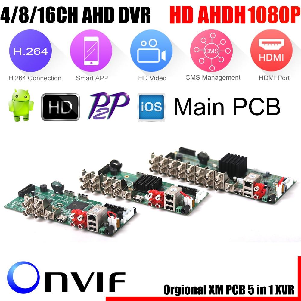 Super 4 8 16CH AHD DVR AHD H HD Full 1080P Video Recorder H 264 CCTV