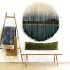 Mandala macramé pared tejido tapiz tejido hecho a mano Banner Tapisserie artesanía Hogar, dormitorio pared Decoración - 2