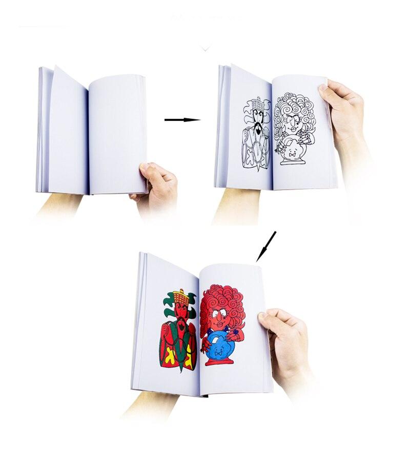 Smiješno komedija Magic bojanje knjiga mala / srednja / velika - Klasične igračke - Foto 3