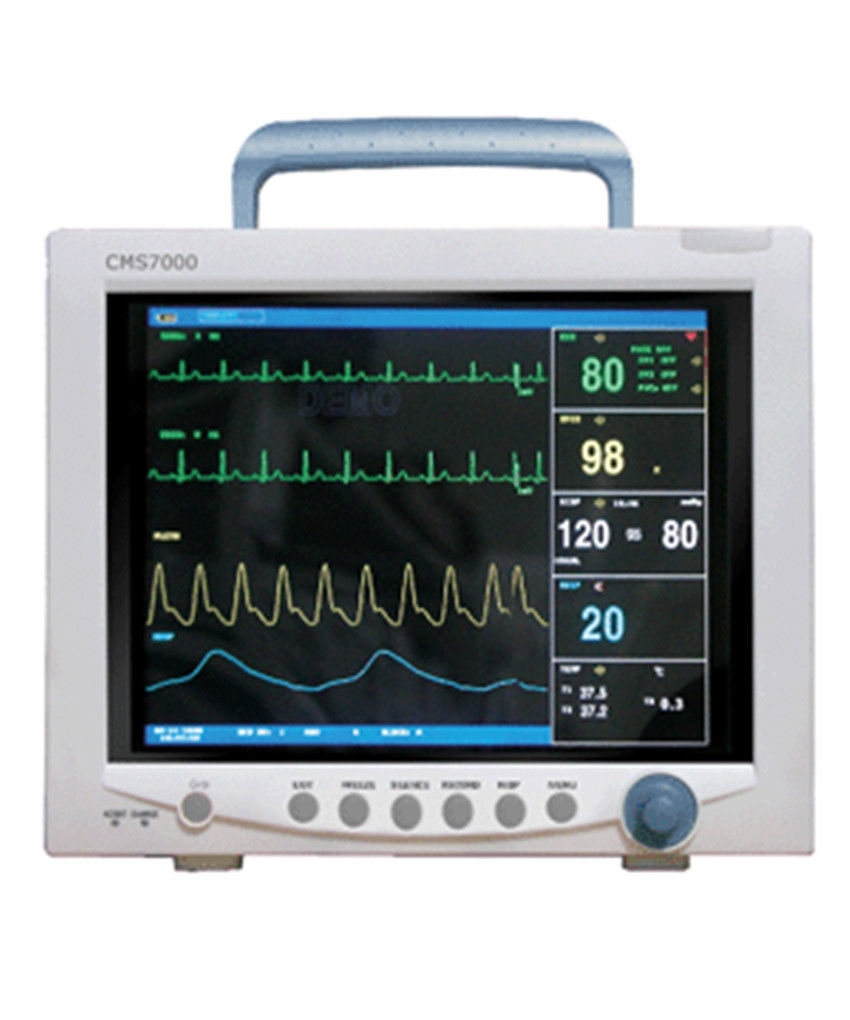 Passed CE Contec CMS7000 Multi-Parameters CCU ICU Patient Monitor,12.1 TFT LCD ce vet veterinary icu patient monitor 6 parameters contec cms6000 etco2 printer