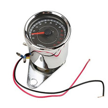Motorcycle refitted tachometer pointer instrument retro LED double-color backlight 12V