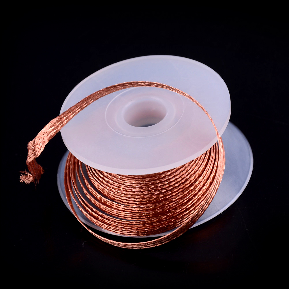 one pound 656 yards SQUARE Braided #5//0 Wick