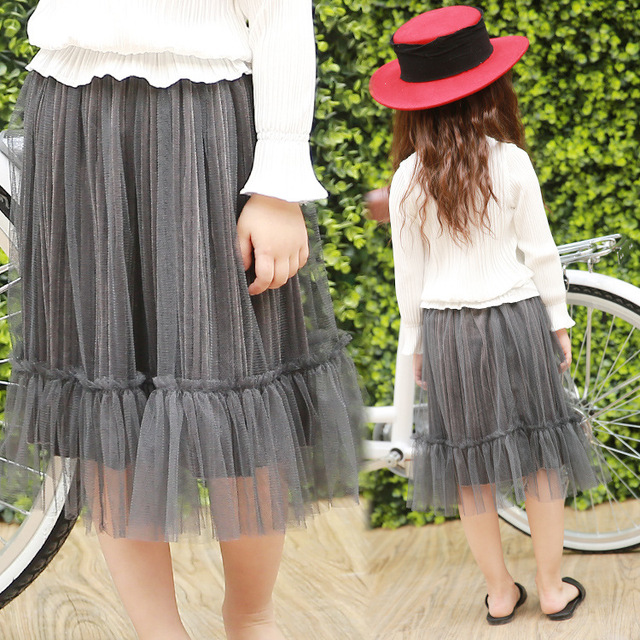 2017 Spring New Arrivals Ladies Long Skirt Lace Striped Bodice Free Shipping