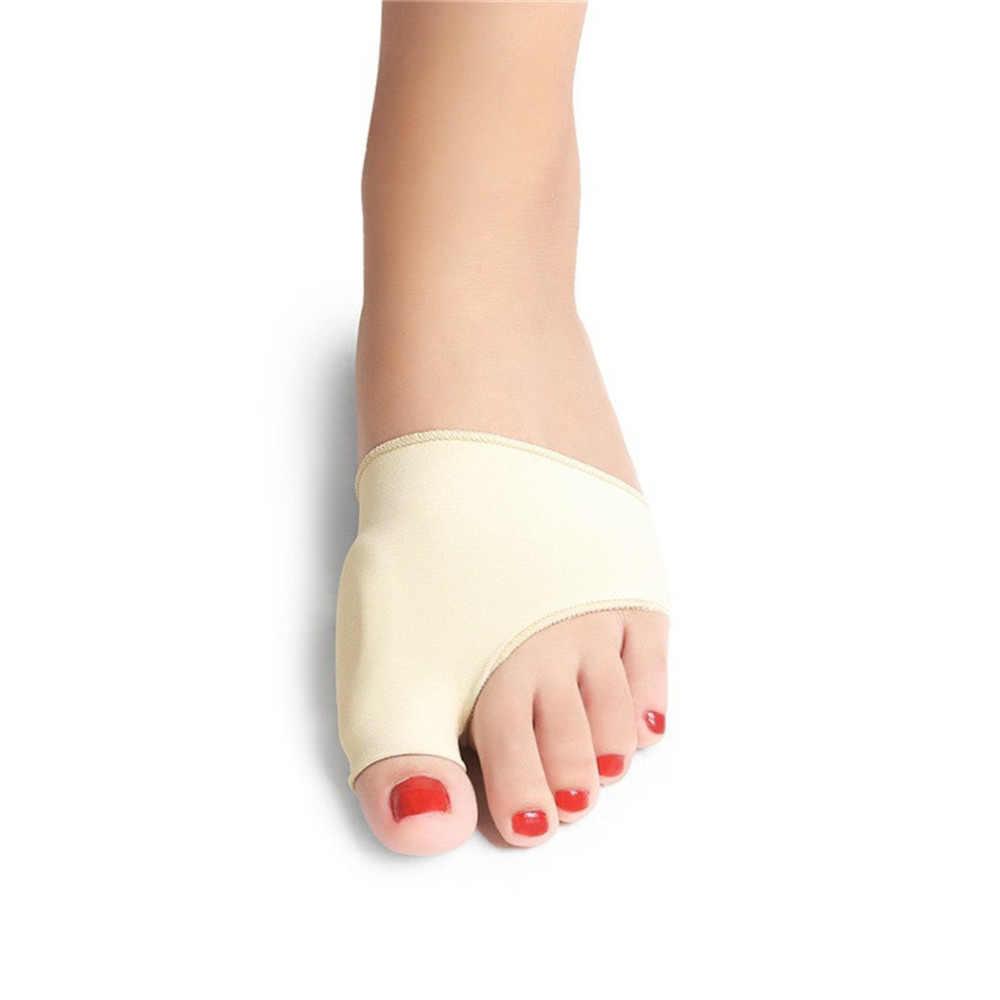 2 個バニオン補正ゲル足セパレーター外反母趾プロテクターアジャスター疼痛緩和まっすぐ曲がった足の指足ケアツール