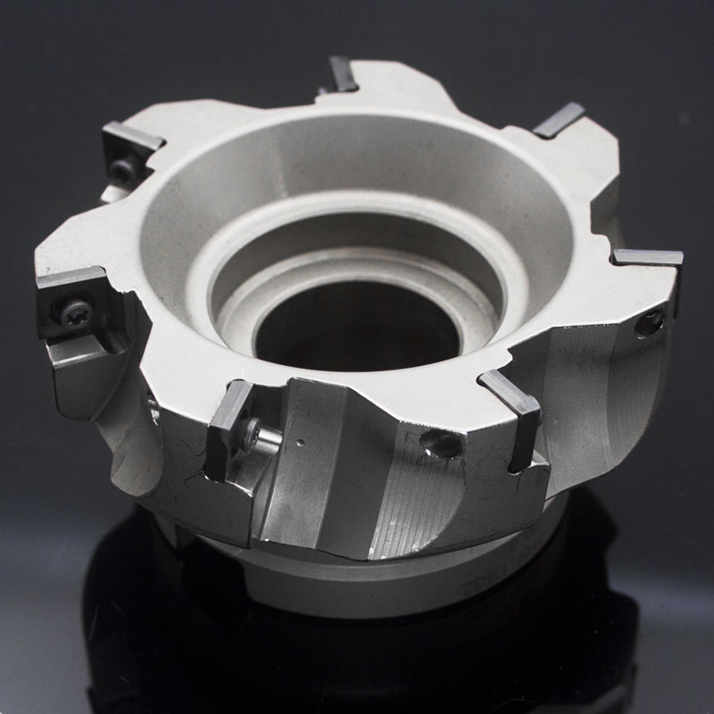 Indexable Face Milling Tools PF07.12B32.100.07 with inserts XDMT120408PDER for CNC Machine