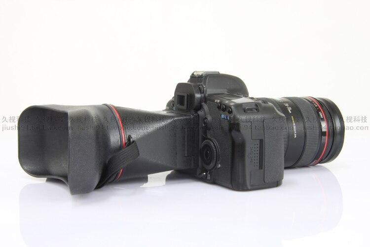 New Dustproof 3.0X LCD binocular Viewfinder Extender for Nikon D300 D700 D800 D90 D600 special DSLR Cameras цена и фото