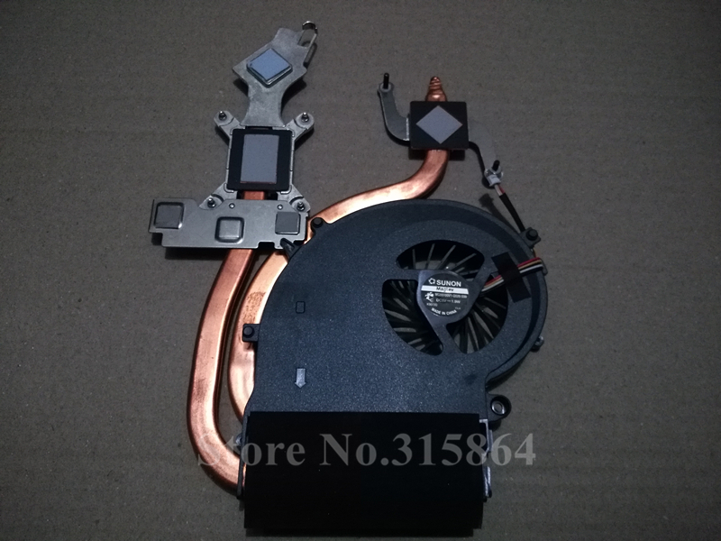 New laptop fan for Acer Aspire 8940 8935 AB1205HX-LDB CPU fan with heatsink, Original 8940 8935 cpu cooling fan laptop radiator for acer aspire 4733z zq8b zq8c 4738g 4738zg founder r410 fan
