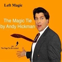 Магический галстук, магический трюк, Делюкс, комедия, всплывающий галстук на шею, поднимающийся магический трюк, клоун, шутка, кляп для мужчин, трюк, опора для мужчин, талисман, аксессуары