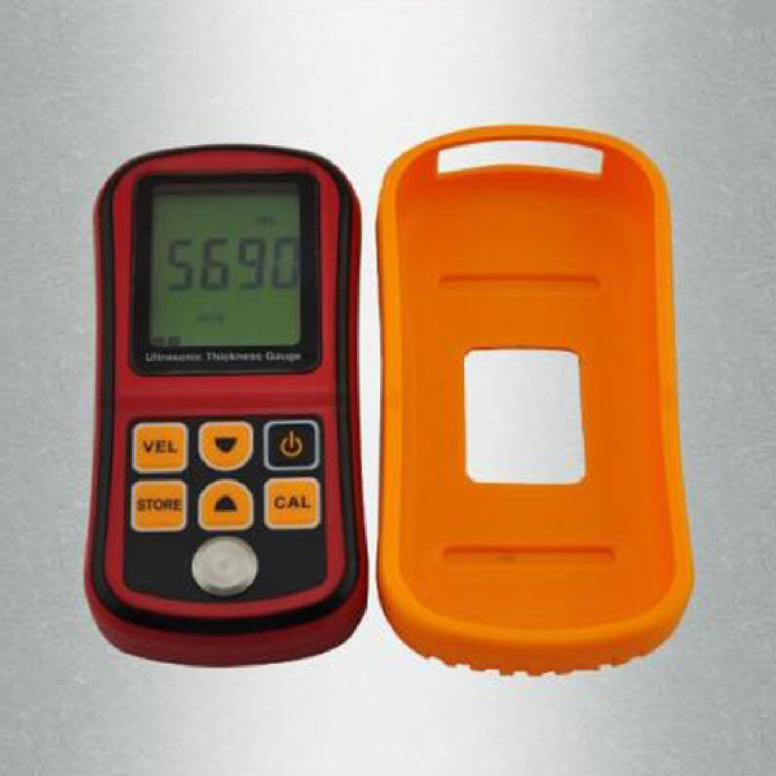 Gm100 Ultrasonic Wall Thickness Gauge Meter Tester Limited Coating Thickness Gauge Steel Pvc Digital Testing ultrasonic thickness gauge smart sensor ar850 1 2 225mm digital wall thickness meter