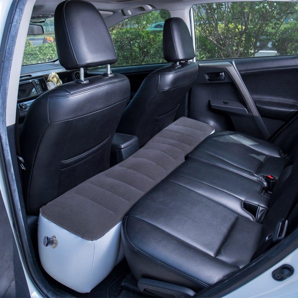 41  Inflatable Automotive Mattress Mattress Tenting Outside Again Seat Sturdy Auto Cushion for Automotive Journey Air mattress 130*27*33 cm Automotive Equipment HTB1CX9uoIuYBuNkSmRyq6AA3pXam