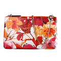 Vintage Flower Print  Evening Bag Clutch Bags Day Clutches Lady Wedding Purse Women Messenger Bag Handbag