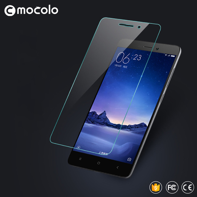 For Xiaomi Redmi 3 Tempered Glass Screen Protector 0.33mm Hongmi 3 Protective Film for Redmi 3S Glass