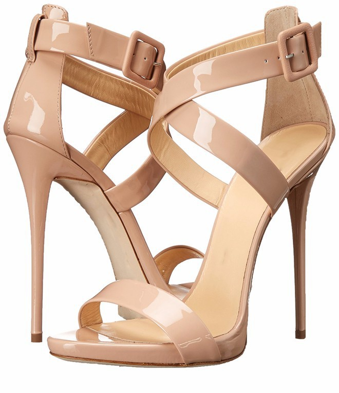 ФОТО Fashion Tenis Feminino Patent Leather Women Summer Sandals Shoes Buckle Strap Zapatos Mujer Plus Size New Hot Shoes Cheap
