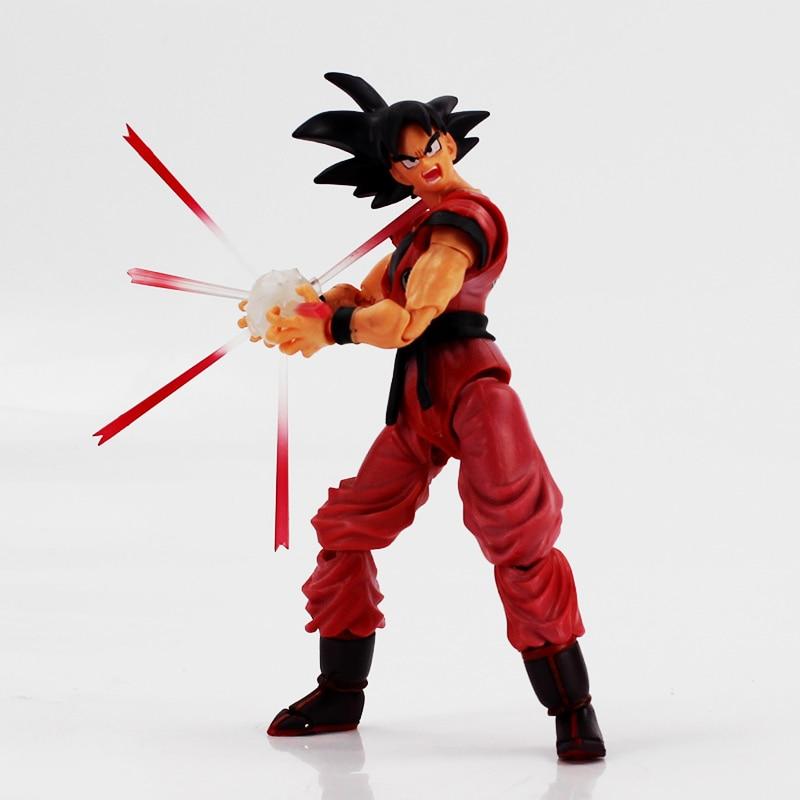 Dragon ball Super Saiyan God Son Goku PVC Action Figure Dragon Ball Z Collectible Model Toys