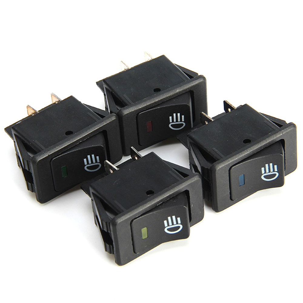 1pcs WATERPROOF SPST Multi Purpose 12v DC Car Auto Jeep Marine Dash Switch