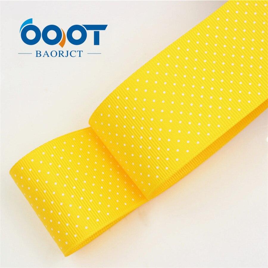 OOOT BAORICT 176222, белый горошек корсажная лента, 38 мм, 10 ярдов лента для шитья, DIY головной убор аксессуары ручной работы - Цвет: 0016