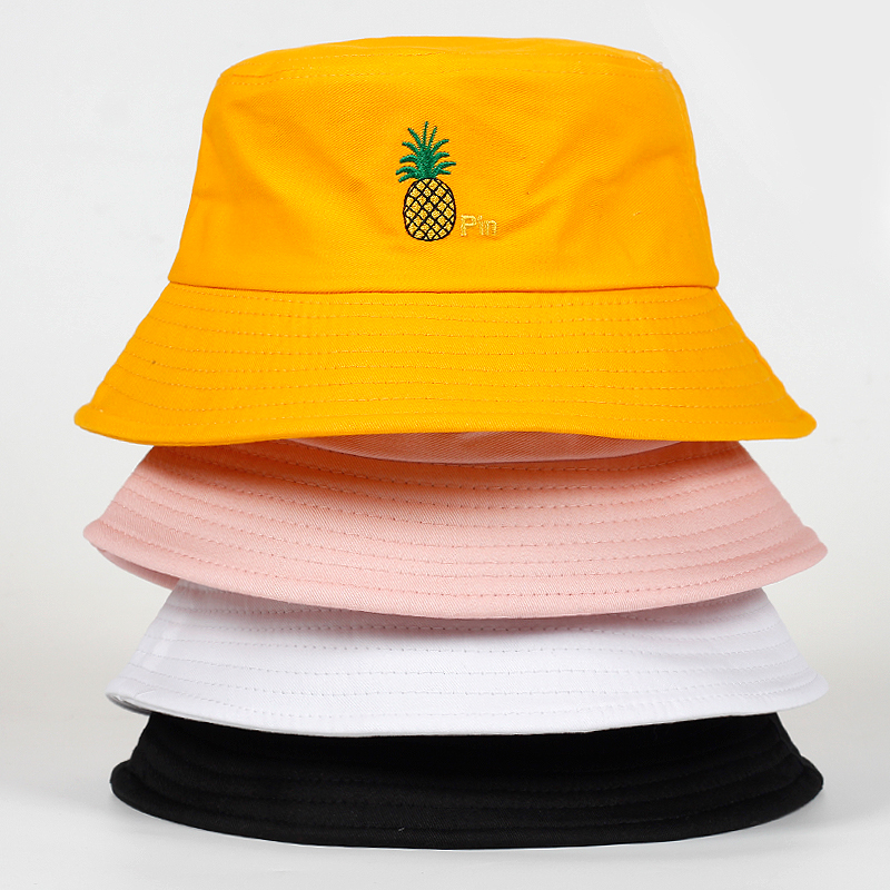 Mother & Kids Generous Bucket Cap Baby Unisex Cotton Banana Hat Bob Caps Hip Hop Outdoor Sports Summer Mother And Girl Beach Sun Fishing Bucket Hats Beautiful In Colour Boys' Baby Clothing