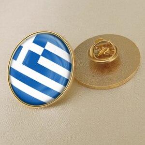 Герб греческого/Греческий флаг Национальная эмблема Брукс/значки/отворот булавки