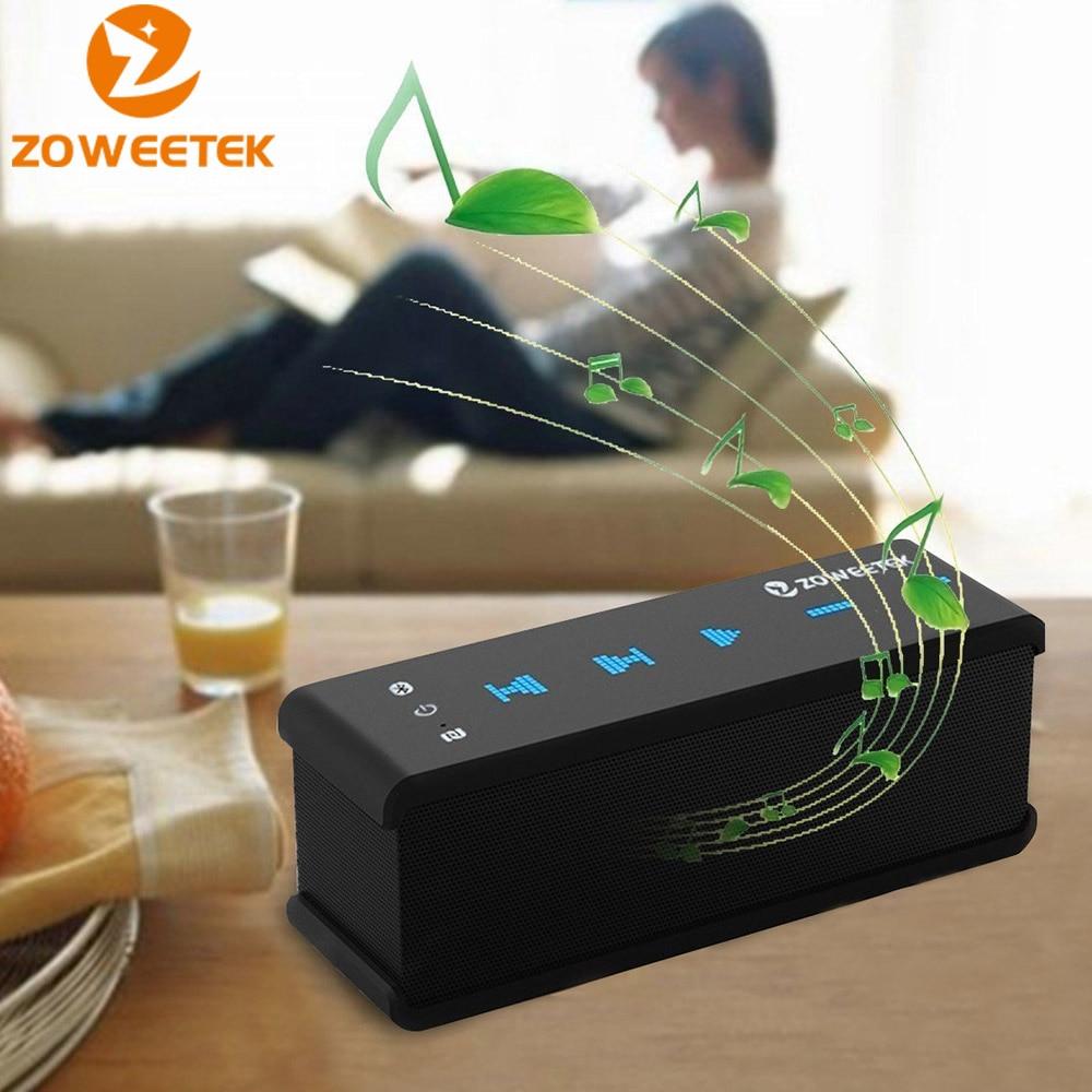 Original Zoweetek Bluetooth-högtalare Trådlös kolumn Mini bärbara - Bärbar ljud och video