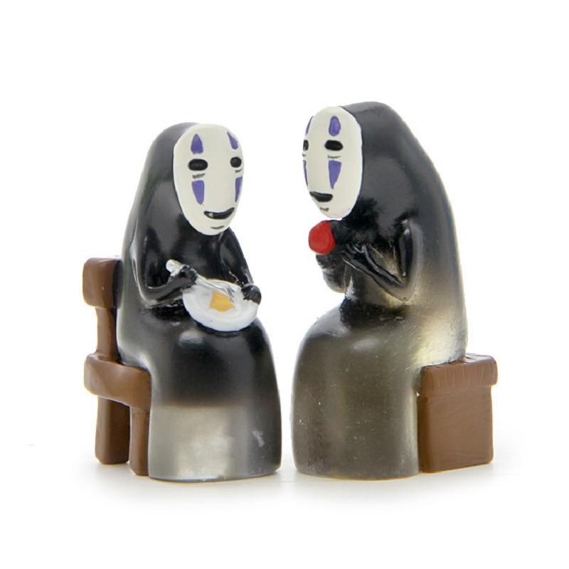 6 Styles Studio Ghibli Miyazaki Hayao Spirited Away No Face Action Figure Toys Diy Pvc No Face Cute Figures Collection Model Toy Toys & Hobbies