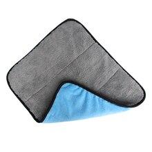 1pc Car Care Wax Polishing Detailing Towels Car Washing Drying Towel Super Thick Plush Microfiber Car Cleaning Cloth
