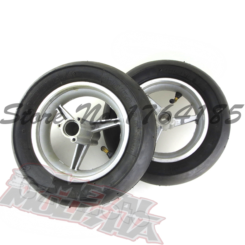 front /Rear wheel for 2 stoke mini pocket bike spare parts