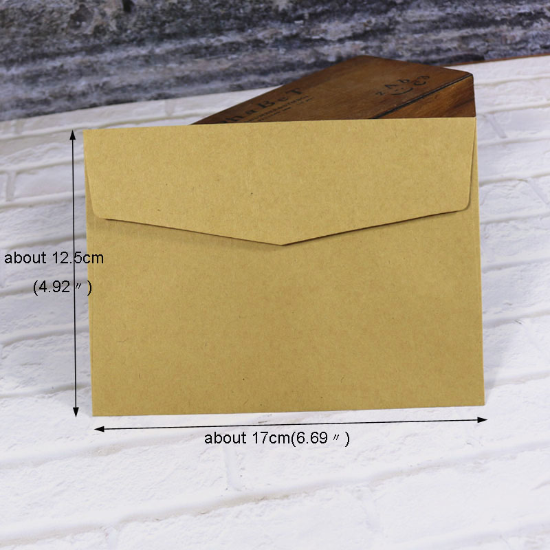 10pcs Envelopes Mixed Candy Colors Stationery Gift Card Solid Color Envelope Post Card Photo Letter Storage Office School Supply