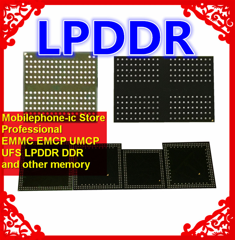 EDFB232A1MA JD F BGA178Ball LPDDR3 4GB Mobilephone Memory New original and Second hand Soldered Balls Tested OK|Cable Winder| |  - title=