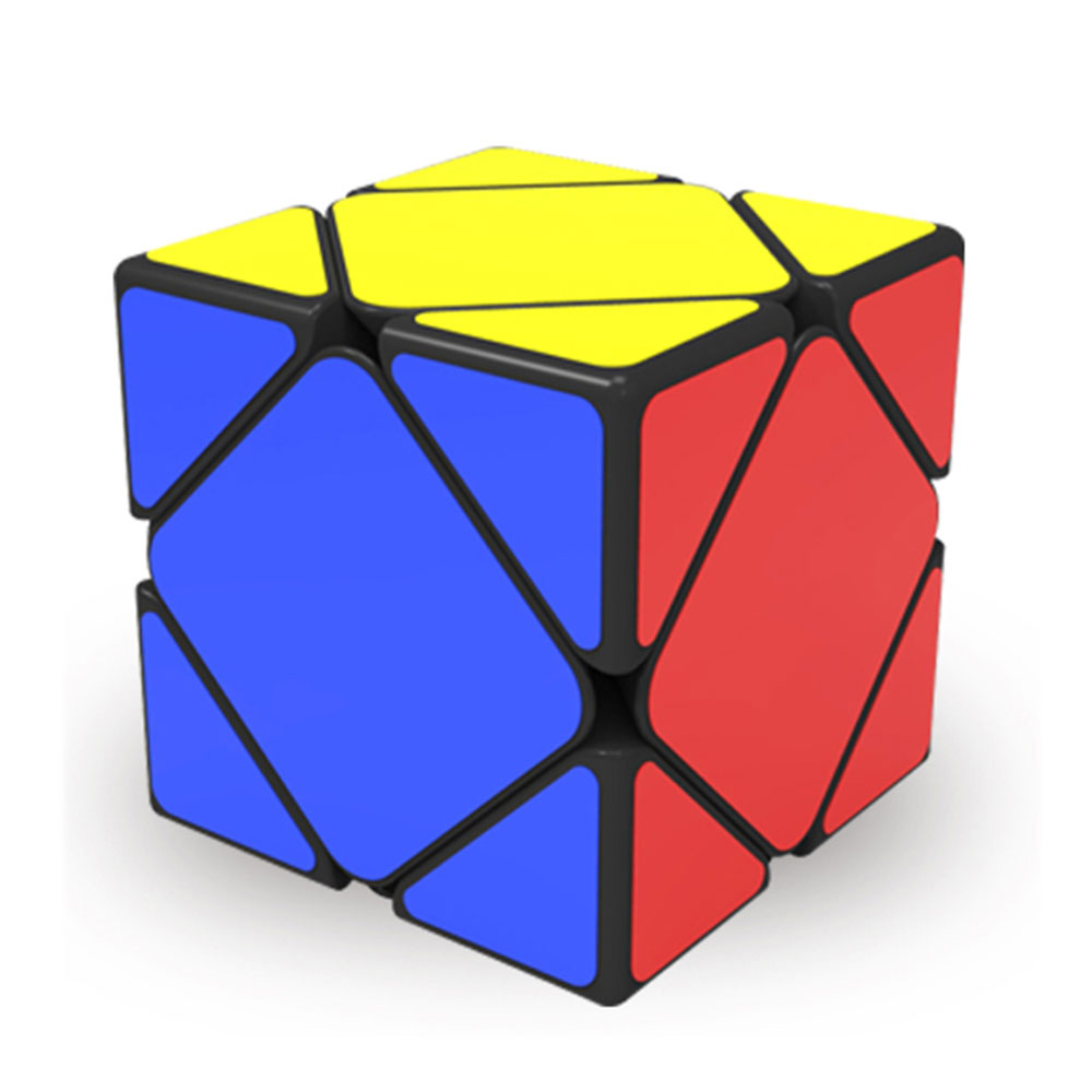 QiYi QiCheng A Professional Skewb Magic Cube Block Square Cube Speed Puzzle Neo Cube Game Cubo Magico Brain Teaser Toy For Kids qiyi megaminx magic cube stickerless speed professional 12 sides puzzle cubo magico educational toys for children megamind