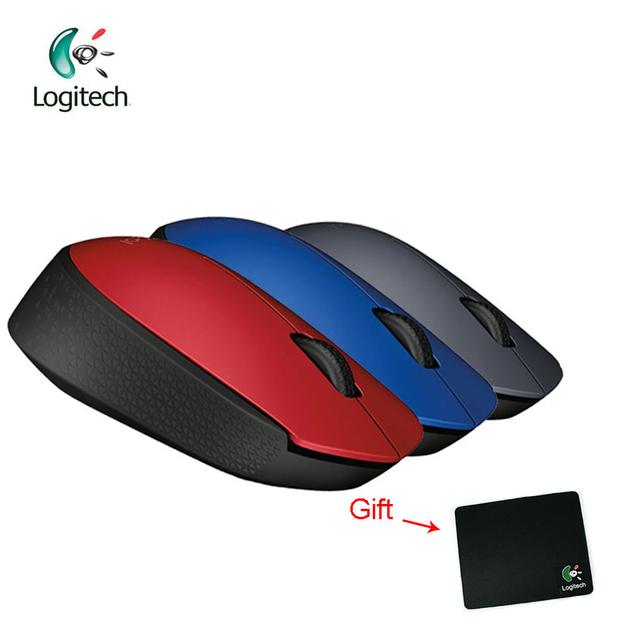 0d5ed23c772 Logitech M170 2.4G Wireless Mouse with 1000dpi Resolving Power Nano  Receiver for PC Game Support Official Verification Free Gift