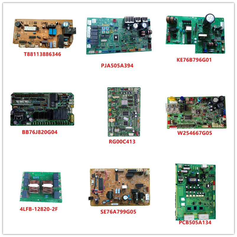 T88113886346/ PJA505A394/ BS08S-POWER KE76B796G01/BB76J820G04/RG00C413/W254667G05/4LFB-12820-2F/SE76A799G05/PCB505A134 Used Work