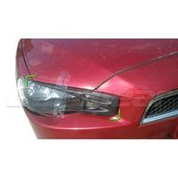 2008 2014 for Mitsubishi Lancer EVO X 10 Carbon Fiber Eyebrows Eyelids Headlight