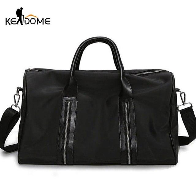 41c38ada24 Nylon Sport Bag Training Gym Shoulder Bags Men Woman Fitness Holdall  Durable Handbag Outdoor Sporting For Travel Sac De XA725WD