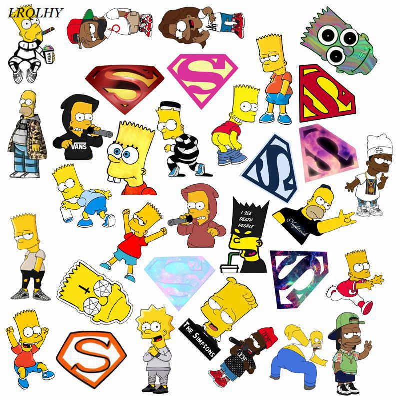 fashion simpsons superman broochs badge acrylic generous simple pins jewelry Clothing accessories cute gifts wholesale