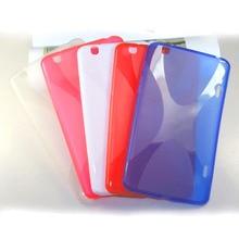 X diseño tpu cubierta de la funda de silicona cubierta de gel para lg g pad pulgadas v500 gpad 8.3 v510 tab tablet