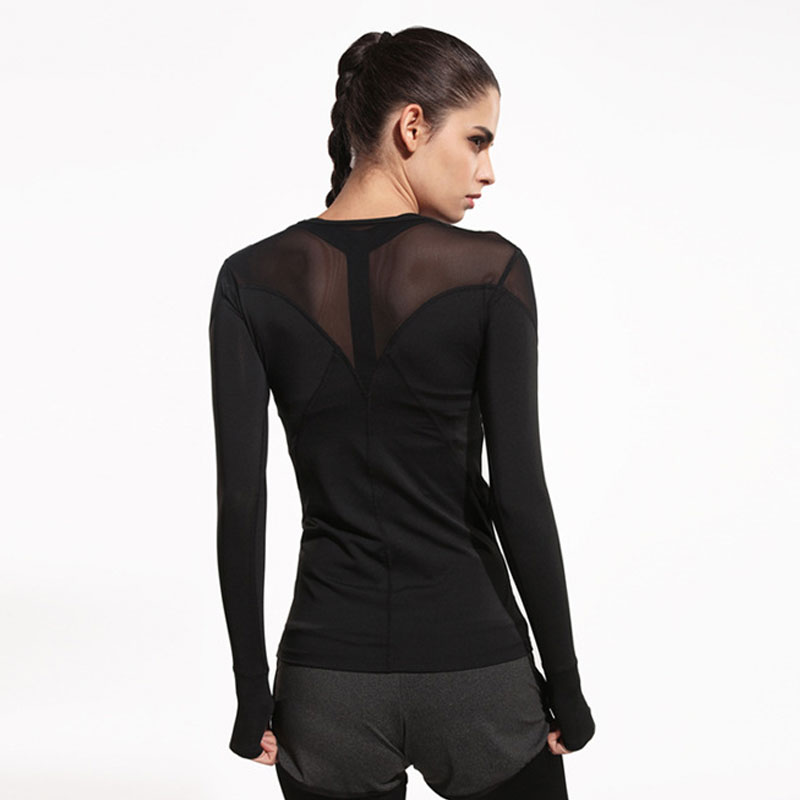 women yoga shirt tops for fitness (2)