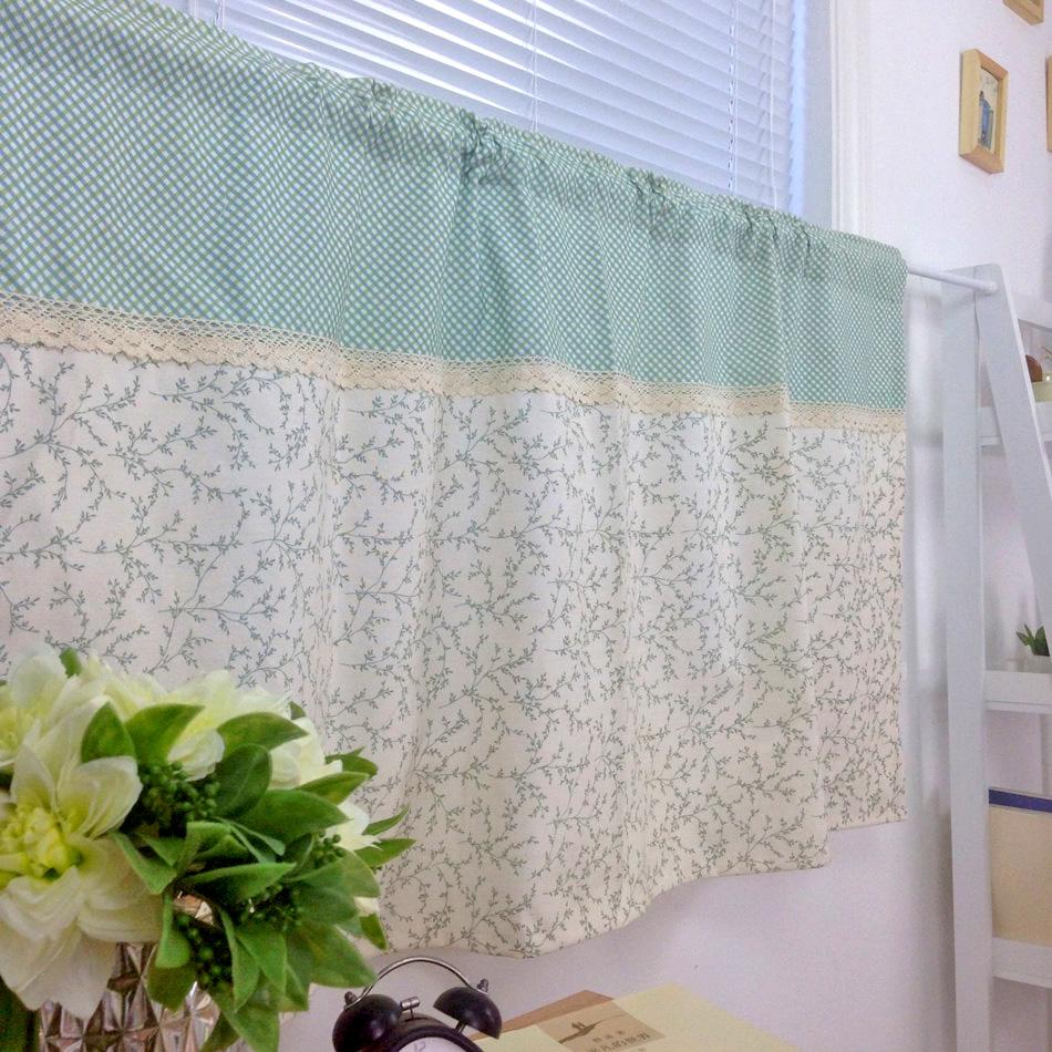 envo gratis tela de algodn fresco del campo cocina rstica cortinas para el dormitorio sala de