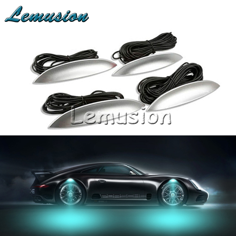 1Set Car LED Wheel lights car Led atmosphere lamp For  Mazda 3 6 CX-5 CX-7 Opel Astra H J G Insignia Mokka Vectra C Zafira Corsa automobile 1 p stalls sequins decorative stickers car accessoires for mazda cx 5
