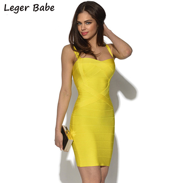 519f15b3654c7 US $25.37 11% OFF|Leger Babe HL 2019 Cheap China Cocktail Party Night Out  Slim Sheath Square Neck Bodycon Mini Strap Celebrity Short Bandage Dress-in  ...